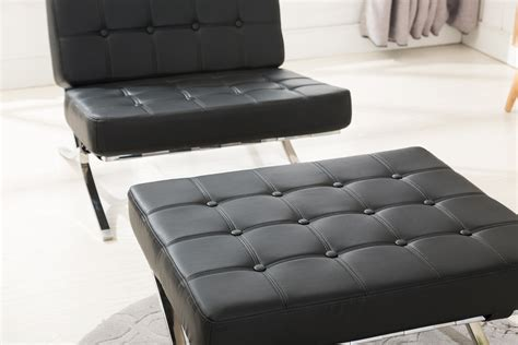 stuhl leder mcombo sessel relaxsessel liegestuhl modern lounge stuhl