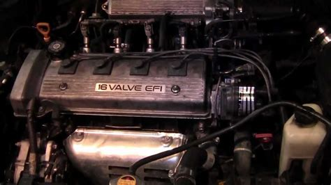 how cars engines work 1997 geo prizm engine control 1993 2002 chevy geo prizm toyota corolla help to replace the timming belt youtube