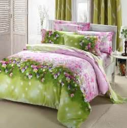 pink and green comforter sets bedding for size decors ideas