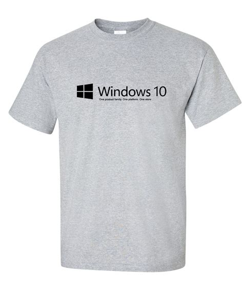 Tshirt Windows 10 Keren windows 10 logo graphic t shirt http www supergraphictees