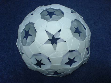 Papercraft Sphere - sphere 94 by wolbashi on deviantart