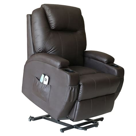 recliners with wheels deluxe wall hugger power lift heated vibrating massage