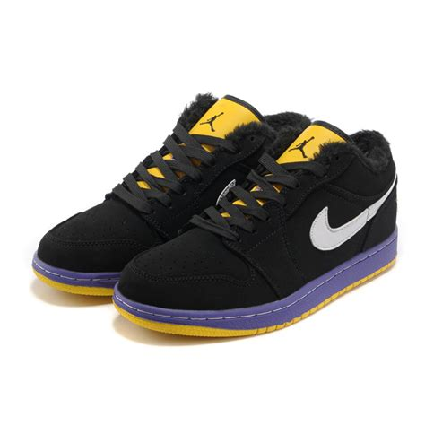 cheap shoes air 1 classical cool low purple yellow black