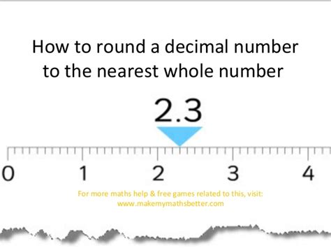 Rounding Decimals To The Nearest Whole Number Worksheet by Rounding To A Whole Number