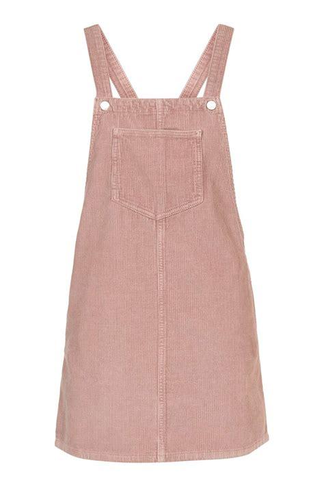 Topshop Pinafore Dress moto pink cord pinafore dress topshop