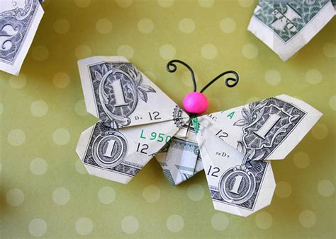 Origami Money Butterfly - butterfly money flickr photo