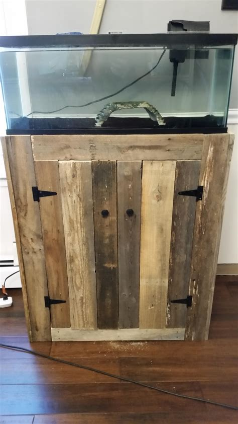 20 gallon fish tank stand made of pallets diyscoveries
