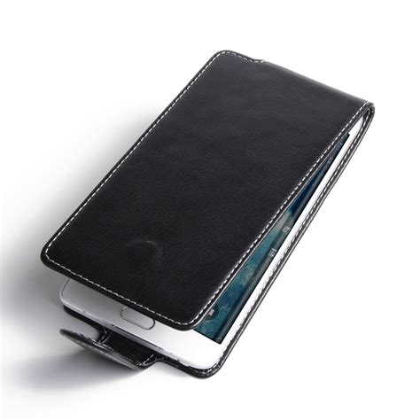 Samsung S7 Edge Leather Casing Cover Flip Bumper Armor Kulit Kuat samsung galaxy note edge leather flip carry pdair sleeve pouch