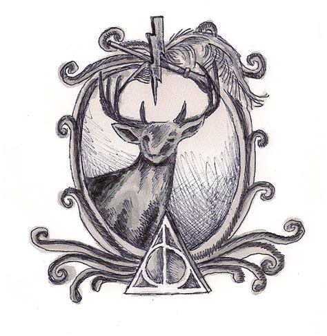 harry potter tattoo design by graffitieyes on deviantart