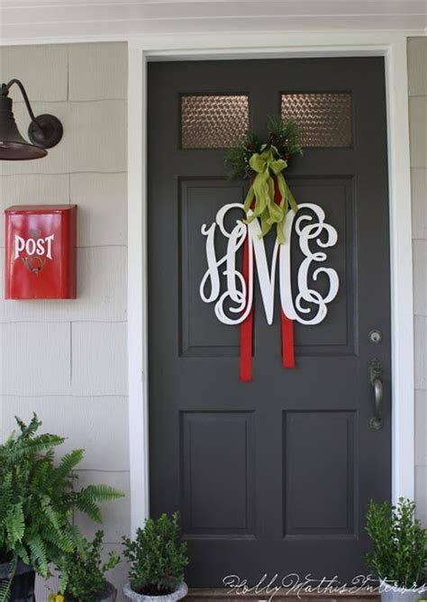 Monogram Front Door Decoration Top 5 Housewarming Ideas Pinboards Tweeting Social Media And General Tidbits