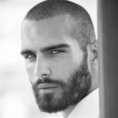 cool low maintenance haircuts for guys long buzzcut with a beard 17 best images about short hairstyles and haircuts on