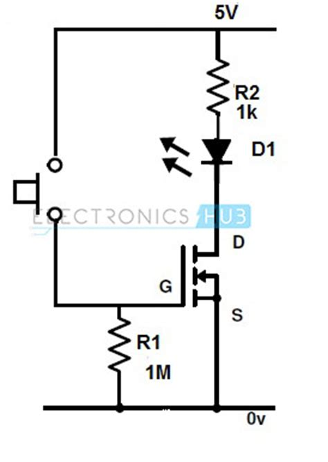 transistor fet switch fet as a switch working of mosfet or jfet as a switch