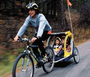 2 seat bike trailer child bike seat bike trailer or cargo bike part two