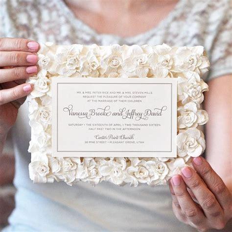 paper flower wedding invitation luxury wedding invitations pocket wedding invitation paper flower wedding invitation