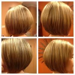 bob haircut with chunky highlites bob haircut and blonde highlights hair pinterest