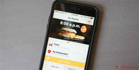 mobile mcdonalds mcdonalds offering big mac egg mcmuffin coffee for 1 on