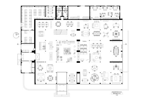 office layout plan dwg office floor plan sanaa google search plans