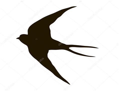 dibujos de golondrinas para graduacion dibujo silueta volar golondrinas archivo im 225 genes