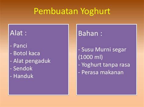 cara membuat yoghurt bioteknologi bioteknologi mengenai yoghurt