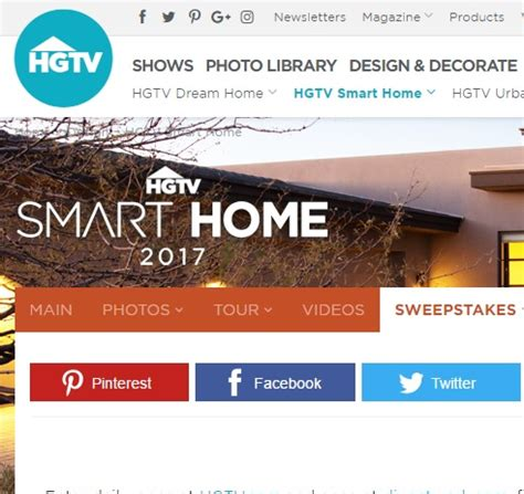 Sweepstakes 2017 Money - hgtv smart home 2017 sweepstakes sweeps maniac