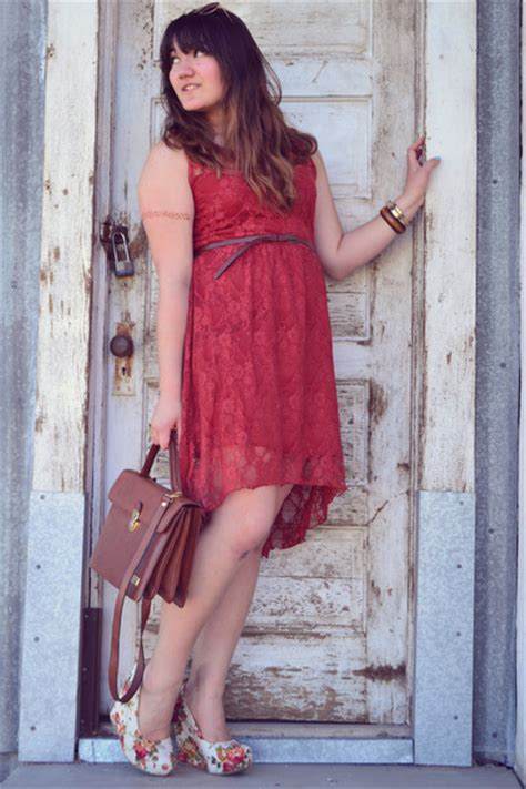 Dress Wedges Texture ruby lace rue 21 dresses white floral print soda