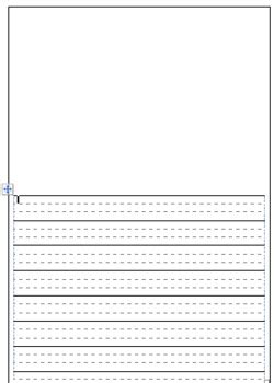 free printable dotted thirds paper freebie dotted thirds printable paper by classroom