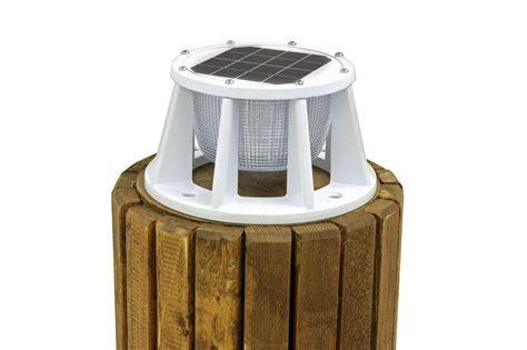 solar piling light  color led switchable midwest