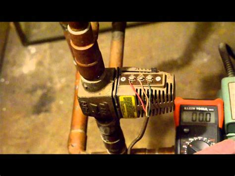 troubleshooting  taco zone valve checking  voltages youtube