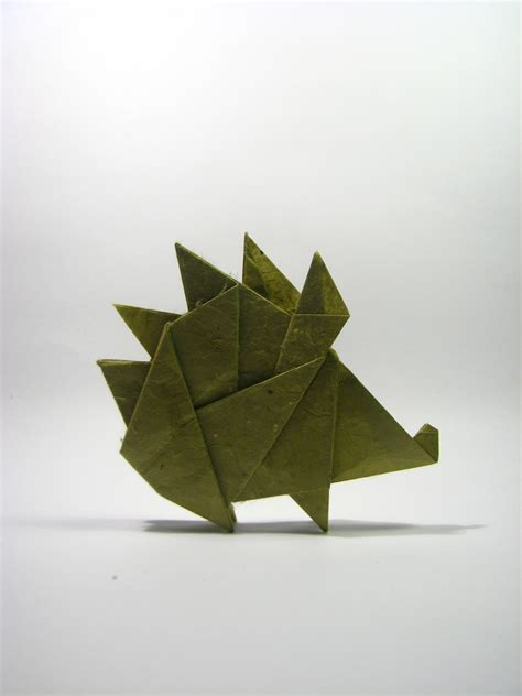 Origami World - the world s newest photos of hedgehog and origami flickr