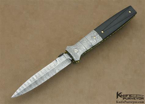 pardue knives mel pardue buffalo horn linerlock dagger knifepurveyor