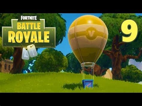 [9] supply drop running and science! (let's play fortnite