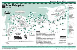 map of lake livingston texasvanagons review lake livingston state park