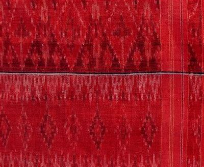 Nusa Pattern pusaka collection of ikat textile 129 bali