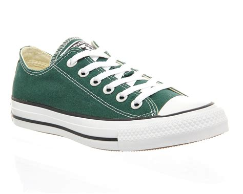 Converse All Low converse all low trainers in green lyst