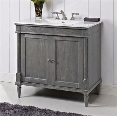 Fairmont Designs Rustic Chic Vanity by Rustic Chic 36 Quot Vanity Silvered Oak Fairmont Designs