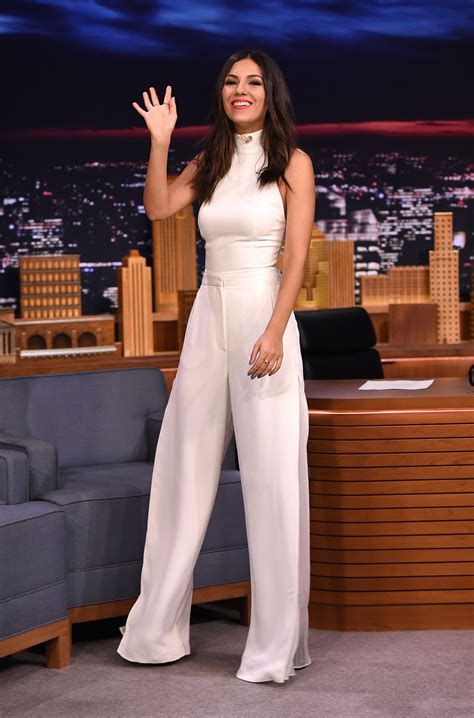 victoria justice adds a dash of sass with leopard print boots victoria justice visits the tonight show starring jimmy