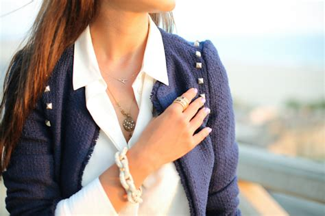 VivaLuxury   Fashion Blog by Annabelle Fleur: NAVY SUNSET   WIN ILY COUTURE JEWELRY