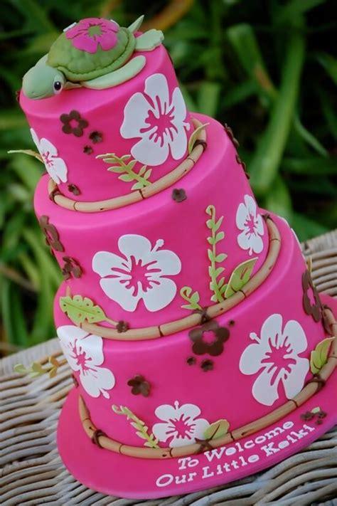 Luau Baby Shower Cakes by Summer Hawaiian Baby Shower Ideas Baby Shower Ideas