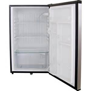 Mini Fridge With Locking Door Bbq Guys 4 1 Cu Ft Capacity Stainless Steel Compact