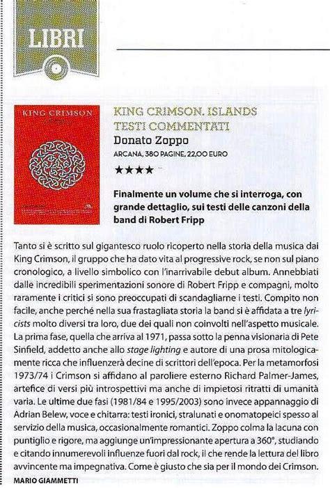 testo the island king crimson islands testi commentati donatozoppo it