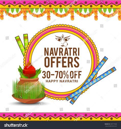 banner design navratri vector banner navratri happy navratri festival stock