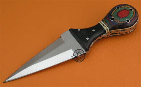 Handmade Knife Handles - dagger skinner knife custom handmade stainless steel