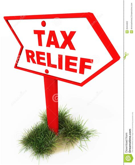 Tas Relief tax relief stock photography image 28494832