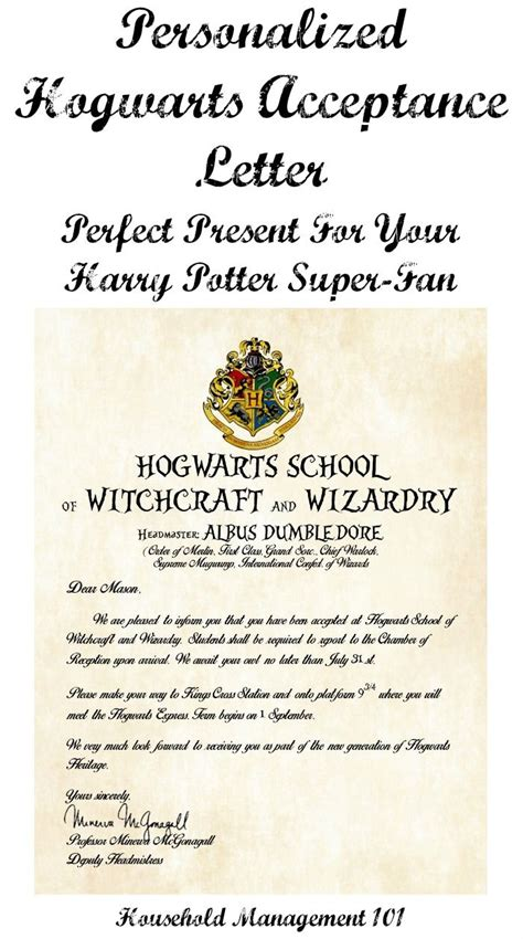 Personalized Hogwarts Acceptance Letter Gift 273 Best Images About Gifting Ideas On Auction Gifts And Gift Basket Ideas