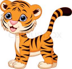 cute tiger clipart clipart kid