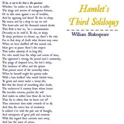 Hamlet Soliloquy Essay by Hamlet S Soliloquy Analysis Essay