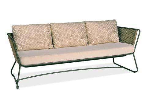 portofino 3 seater sofa by roberti rattan design studio balutto associati santiago sevillano