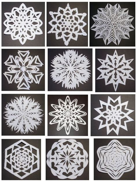 Snowflakes Out Of Paper - the world s catalog of ideas