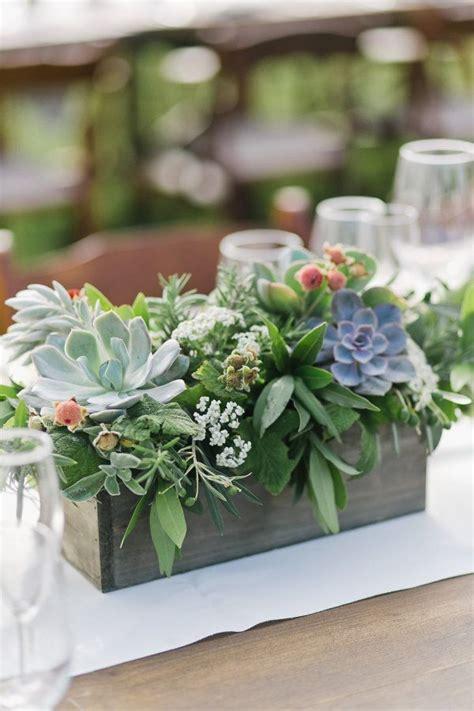 Rustic Succulent Wedding Centerpiece Deer Pearl Flowers Succulents For Wedding Centerpieces