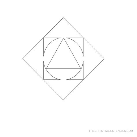 printable stencils geometric 7 best images of geometric printable stencils designs